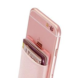 Mobile Stick-on Pocket, Magic Vosom Card Wallet compatible w