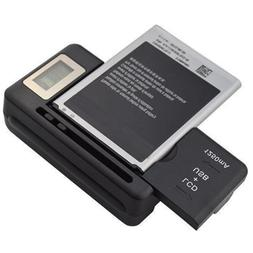 Mobile Universal Battery Charger LCD Indicator Screen For Ce