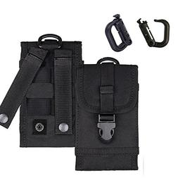 MOLLE Tactical Pouch Army Waist Holster Cell Phone Bag for i
