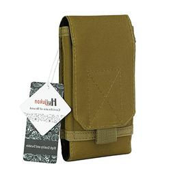 Huijukon MOLLE Tactical Smartphone Pouch Military 1000D Nylo