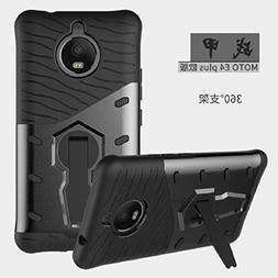 Moto CPlus Case, Awesome Armor Foldable Movie Stand Slim Cov