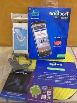 "Motorola Moto e5 5.7"" 16GB Tracfone 1500 Minute 1500 Text 1."