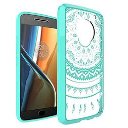 Moto G Plus  Case ,Moto G5 Plus Clear Case ,AnoKe Mandala Cu