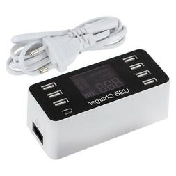 Multi-Function 7V 8A 7-Port USB Adapter Power Charger for Mo
