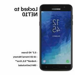 Net10 Samsung Galaxy J7 Crown 4G LTE Prepaid Phone w/ $40 Ai
