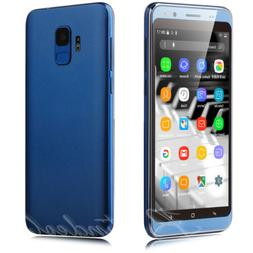 """New 3G GSM Unlocked 5.0"""" Android 7.0 Cell Phones Quad Core D"""