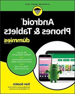 NEW - Android Phones & Tablets For Dummies )
