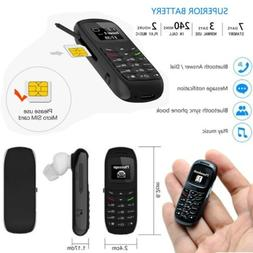 New BM70 Mini Small GSM Mobile Phone Bluetooth Dialer Headse