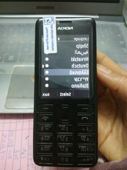 New Condition Nokia Asha 206 2060 Unlocked Black Dual Sim He