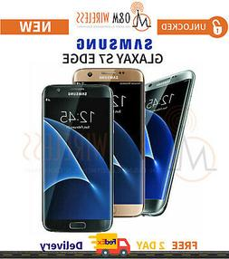 NEW Samsung Galaxy S7 EDGE  Pink Blue Gold Black Silver