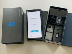 NEW Samsung Galaxy S8 SM-G950U 64GB Midnight Black GSM Unloc