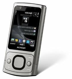 New in Box Nokia 6700s 6700 Slide Silver Aluminum GSM Global