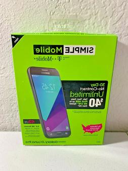 New in Box Samsung Galaxy J3  SM-S337 Luna Pro - 16GB - Blac