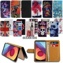 New Leather Smart Stand Wallet Case Cover For Various LG Mob