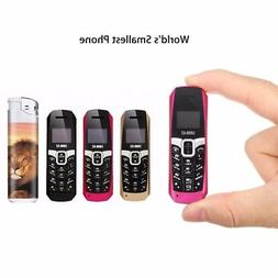 USA LONG-CZ T3 Mini Dial Smallest Cellphone Bluetooth Unlock