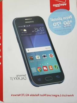 NEW Sealed in the box: Samsung GALAXY J1 Blue 8GB Android VE