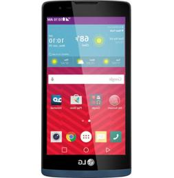 NEW)LG Tribute2 LS665 8GB Blue  Smartphone /New Activation
