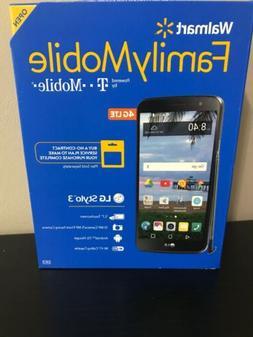 New- Walmart Family Mobile LG Stylo 3 16GB Prepaid 4G LTE Sm