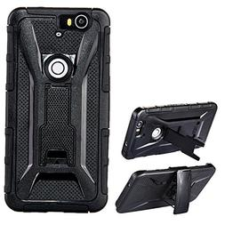 Nexus 6P Case, Hybrid Dual Layer Rugged Armor Scratch Resist