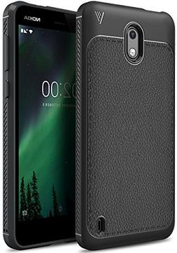 Nokia 2 case, KuGi SS  Premium Flexible Soft Anti Slip TPU C