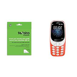 "Nokia 3310 3G Factory Unlocked Phone  - 32GB - 2.4"" - Warm R"