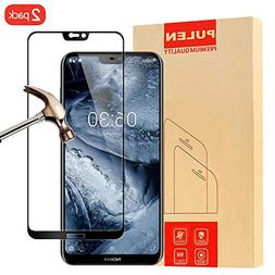 Nokia 6.1 Plus/X62018 Screen Protector Tempered Glass, PU