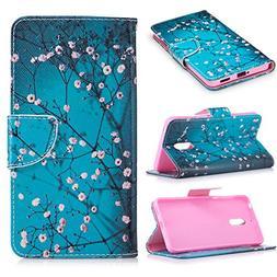 Nokia 6 Case, Ratesell Premium PU Leather Flip Foil Magnetic