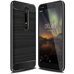 Nokia 6 2018 Case, , Sucnakp TPU Shock Absorption Technology