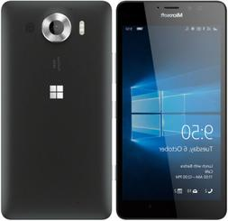 Microsoft Nokia Lumia 950 Unlocked  32GB Black Windows 10 Ph