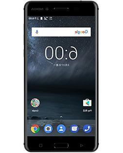 """Nokia 6 TA-1000 64GB Black, Dual Sim, 5.5"""", GSM Unlocked Int"""