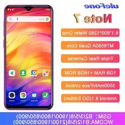 Ulefone Note <font><b>7</b></font> Smartphone 6.1 <font><b>I