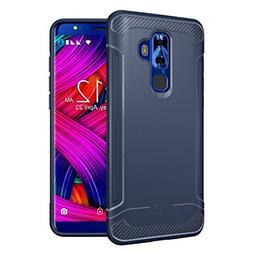 Nuu Mobile G3 Case, TUDIA Carbon Fiber Design Lightweight  T