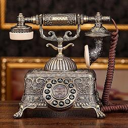 Office, telephone antique Home Fashion / Metal / metal relie