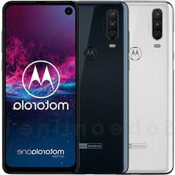Motorola One Action 128GB 4GB RAM 	XT2013-1  6.3""