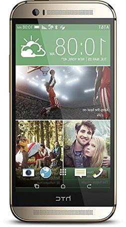 HTC One M8 32GB 4G LTE Unlocked GSM Android Cell Phone - Gol