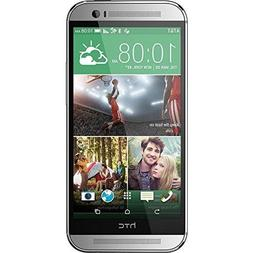 HTC One M8 32GB 4G LTE Unlocked GSM Android Cell Phone - Sil