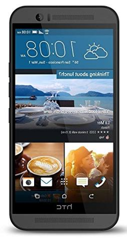 HTC ONE M9 32GB Unlocked GSM 20MP Camera Smartphone, Gunmeta
