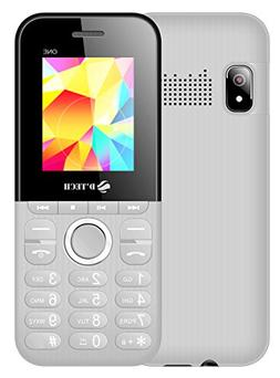 New D'Tech One - GSM Factory Unlocked Basic Feature Phone -