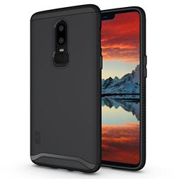 OnePlus 6 Case, TUDIA Slim-Fit HEAVY DUTY  EXTREME Protectio