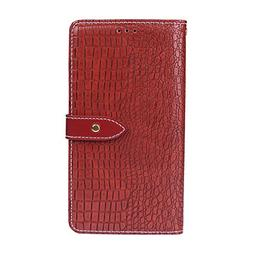 OPPO F7 - Cell Phone Cases Leather Cover Wallet Style Flip C