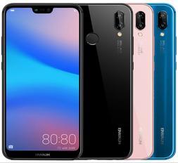 """Huawei P20 Lite ANE-LX3 Dual Sim  5.8"""" 4GB RAM Black Blue Pi"""