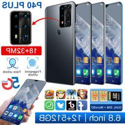 "P40plus 12+512GB Android 10 Dual SIM 6.8"" HD Camera Octa-Cor"