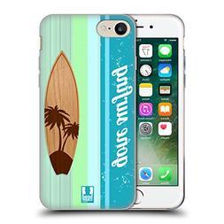 Head Case Designs Palm Tree Surfboards Soft Gel Case for App