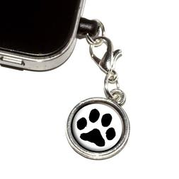 Graphics and More Paw Print - Pet Dog Cat Anti-Dust Plug Uni