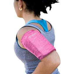 Phone Armband Sleeve: Best Running Sports PINK Arm Band Stra