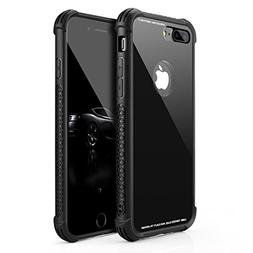 Phone Case Compatible iPhone 8 Plus/iPhone 7 Plus, Tempered