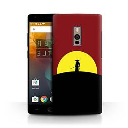 STUFF4 Phone Case/Cover for OnePlus 2/Two/Last Samurai Inspi