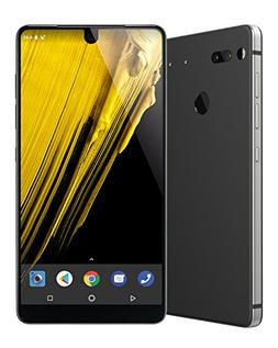 Essential Phone in Halo Gray – 128 GB Unlocked Titanium an