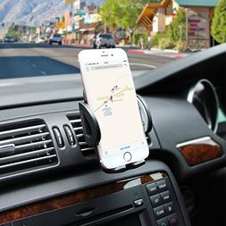 Ameauty Phone Mount Holder, 360 Degree Adjustable Air Vent C