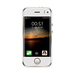"""Pocket Smartphone GSM Unlocked Mini Cellphone 2.45"""" WIFI And"""